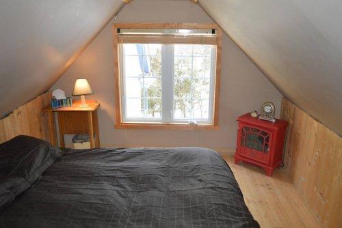 Mezzanine loft bedroom